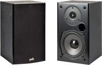 Polk Audio T15 100 Watt Home Theater Bookshelf Speakers (Pair) - Premium Sound