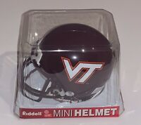 Virginia Tech Hokies mini helmet riddell football new ncaa