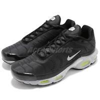 Nike Air Max Plus PRM Black Silver Volt Men Running Shoes Sneakers 815994-003