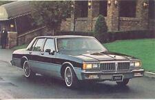 1984 Pontiac Parisienne ORIGINAL Factory Postcard my0194