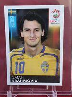 Zlatan Ibrahimovic Sweden Euro 2008 Panini Sticker