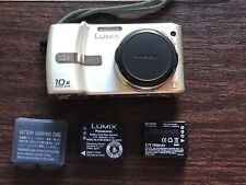 Panasonic LUMIX DMC-TZ1 Digital Camera - Silver + Waterproof Scuba Case Extras