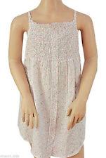 Ärmellose Mädchen-Tops, - T-Shirts & -Blusen mit Blumenmuster aus 100% Baumwolle
