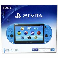 Sony Playstation Vita (PS Vita) Console - Slim Model PCH-2006 (Aqua Blue) - NEW