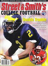 CHARLES WOODSON RP SIGNED 8X10 MICHIGAN STREET & SMITH COVER DOUBLE TROUBLE