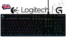 Logitech G810 Orion Spectrum RGB LED Backlit Fully Mechanical Gaming UK Keyboard