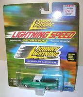 """Johnny Lightning """"LIGHTNING SPEED"""" 1959 CHEVY EL CAMINO -1:64 - OPENING HOOD"""