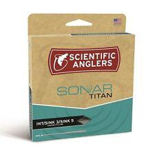 Scientific Anglers Sonar Titan WF8S - Int/Sink3/Sink5 - Fly Line - NEW
