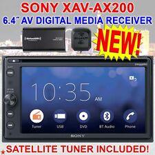 SONY XAV-AX200 DIGITAL MEDIA RECEIVER DVD BLUETOOTH APPLE CARPLAY ANDROID AUTO