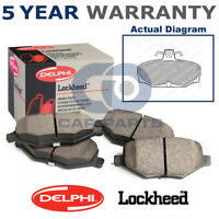 Rear Delphi Lockheed Brake Pads For Ford Escort Granada Scorpio Sierra LP507