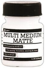RANGER  Multi Medium MATTE + BRUSH Medium 1.1oz 34ml INK41528