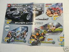 LEGO BROCHURE FLYER CATALOG TOYS TECHNIC 2000/2001 ROBORIDERS DUTCH 8 PAGES 029