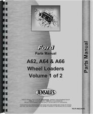 Ford A62 A64  A66 Wheel Loader Parts Manual FO-P-A62,64,66{1312044}