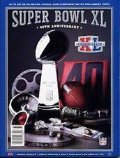 Super Bowl XL Official NFL Game Program  Pittsburgh Steelers vs Seattle Seahawks