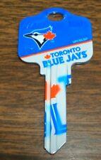 Great Gift Idea MLB TORONTO BLUE JAYS  KWIKSET KW1, KW10, KW11 UNCUT KEY BLANK
