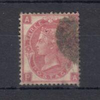 GB QV 1865 3d Rose SG92 Plate 14 VFU J9198