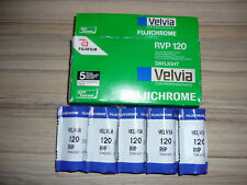 5 Fujichrome Velvia RVP 120 Film Color Reversal EXPIRED 2007 Daylight ISO 50