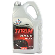 Fuchs Titan Race Pro R 10W-40 Ester Synthetic Race Proven Engine Oil 5 Litres 5L