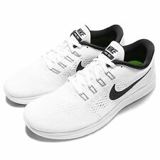 New NIKE FREE RN Running Shoes WHITE / BLACK 831508-100 Size 9.5