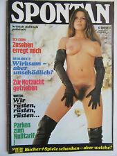 Spontan Nr 12/1973, Satire Sex Politik, Inhalt siehe Foto