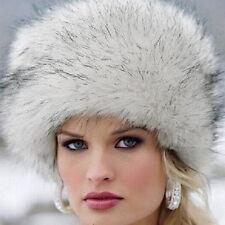 Women Imitation fur Hat Headband Winter Thick Warm Ears Fashion Bomber Hat New