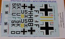 Microscale Decal 1:48 Scale #MS48-1210 Doriner Do-17Z-2, Stab.III/KG 3, 1.KG 2,
