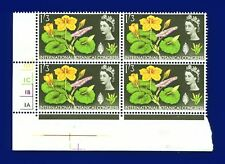 1964 SG658 1s3d Intl Botanical Congress Cylinder Block-4 No Dot MNH CV £14 alsa
