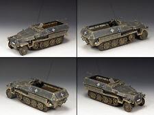 KING & COUNTRY WW2 GERMAN ARMY WS217 SD. KFZ. HALF TRACK 251 GREY MIB