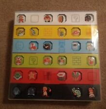 NEW Super Mario Bros Pin button Badge Collection Club Nintendo 25th Anniversary