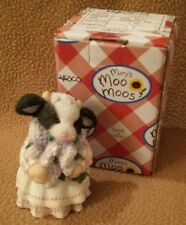"""MARY'S MOO MOOS FIGURINE 1994  """"THE COMING OF SPRING BRINGS UDDER JOY"""" #104876L"""
