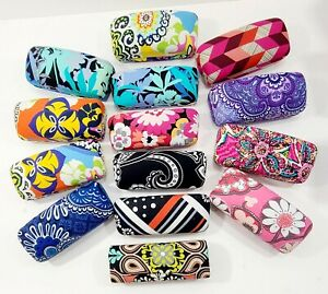 NEW Vera Bradley Retired Cotton Clamshell Sunglasses & Glasses Cases Your Choice