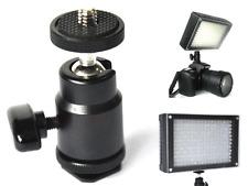 """1/4"""" Ball Head Holder Bracket Mount Tripod for DSLR Camera DV LED Video Light"""