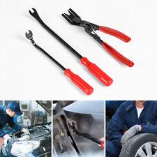 3x Car Door Panel Clip Pliers Trim Removal Pry Fastener Puller Repair Tool Combo