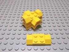 Lego 6 Platten 2x4 Kotflügel in Gelb Glatt  3787 Set 7735 167 6667 6671