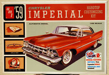 1959 Chrysler Imperial Hardtop 3´n1 1:25 AMT 1136 wieder neu 2019