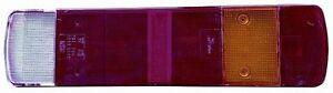 RODOVETRO LENTE POSTERIORE DX=SX SCANIA 114-124 P94- T164 1996/2005 NUOVO 56370