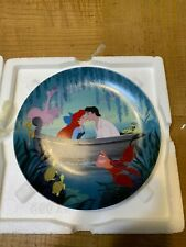 Bradford Exchange The Little Mermaid Plate Collection Kiss The Girl #6 Mint