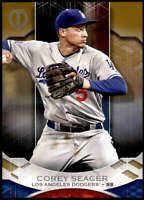 Corey Seager 2019 Topps Tribute 5x7 Gold #41 /10 Dodgers