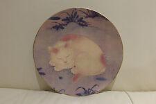Limoges Philippe Deshoulieres Metropolitan Museum of Art Sleeping Cat Plate