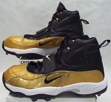 New Mens 18 NIKE ZM Zoom Air Vapor Shark Linemen Cleats Gold Shoes 534768-020