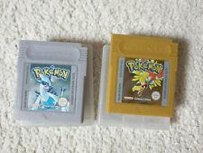 Nintendo Game Boy, Gameboy Color Spiele Pokemon Silberne & Goldene Edition