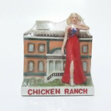 Dugs Chicken Ranch Miniature Decanter. Pahrump Nevada Empty
