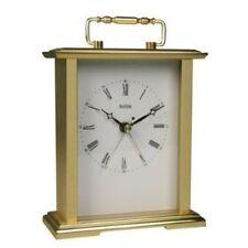 Brass Antique Style Analogue Desk, Mantel & Carriage Clocks
