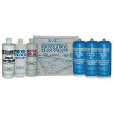 Swimming Pool Winter Closing Kit 25,000 Gal... Tabs+Winterizer+Deodor+Stain Out