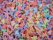 Beads Plastic Butterflies 25g Mix Pastel Jewellery Party Butterfly FREE POSTAGE
