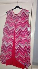 Ladies 2 tier summer dress size 22