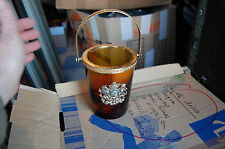 sceau a glace en verre fumé decor au blason     occasion