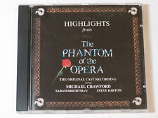 Highlights from the Phantom of the Opera by phantom of the opera CD 831563-2