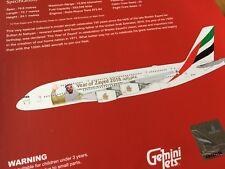 EMIRATES Sheik Zayed A380-800 DIECAST METAL Model A6-EUZ  GEMINI JETS GJUAE1747