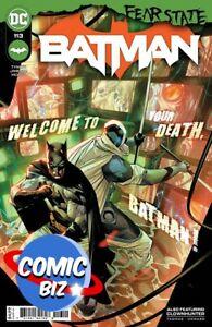 BATMAN #113 (2021) 1ST PRINTING BAGGED & BOARDED JIMENEZ MAIN COVER A DC COMICS